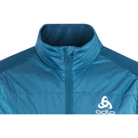 Odlo Irbis X-Warm Hybrid Vest Seamless Men poseidon-blue jewel